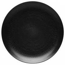 Assiette plate Black Stone 28cm Guy Degrenne